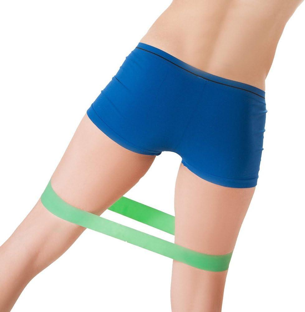inflar musculaci/ón Skisneostype Juego de bandas el/ásticas de ejercicio bandas de resistencia para actividades deportivas Intenses Pilates o rehabilitaci/ón Yoga