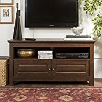 New 44 Inch TV Console in Medium Traditional Brown Finish