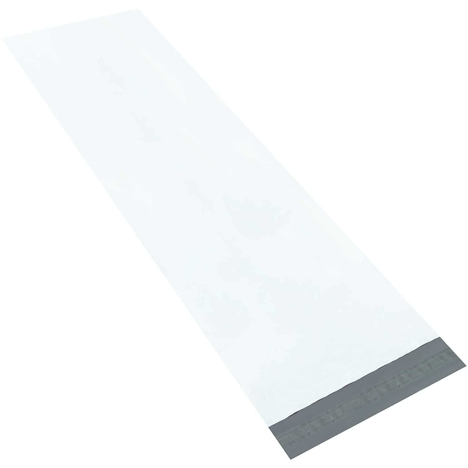 Pack of 25 White 48 Length 18 x 48 18 Width Aviditi LPM1848 Long Poly Mailers