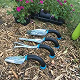 ergonomic trowel, weeder, transplanter, and cultivator