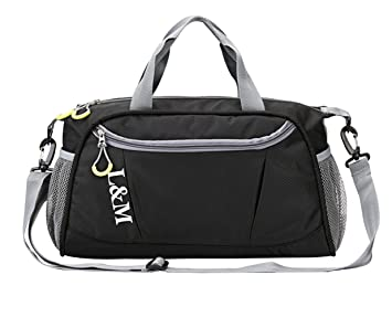 68b9dc408023 Gym Bag Dry Wet Separated Swimming Kit Bag Waterproof Sports Duffels Bag  Weekend Travel Holdall Bag