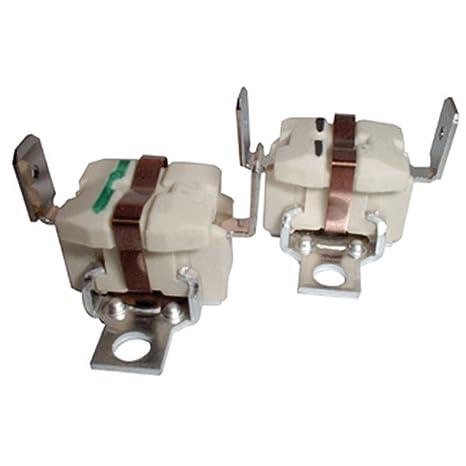 Spares2go Kit de termostatos de radiador para Proline TDV65 Secadoras (Pack de 2)