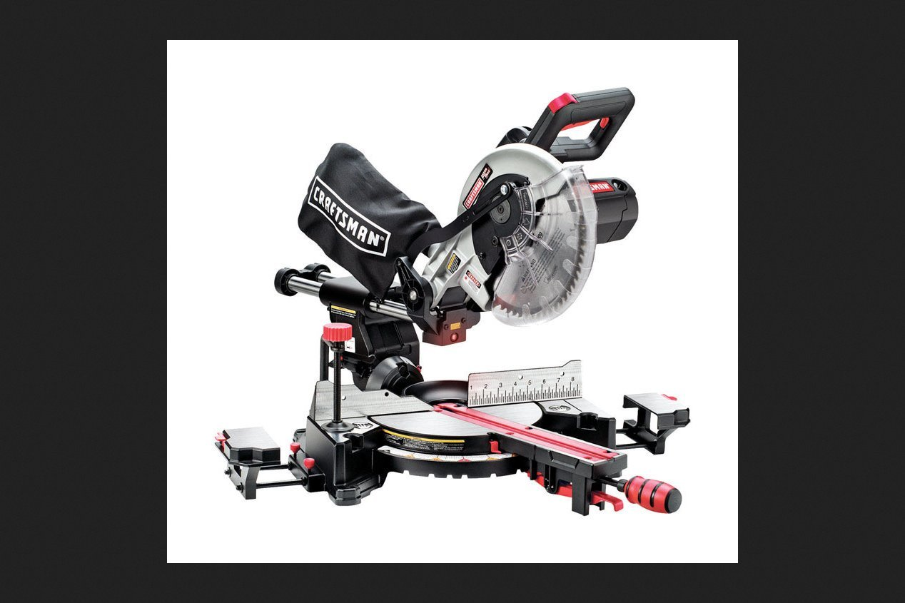 Sears Brand Management Corp Cm Sliding Miter Saw 10'', Sears Brand Management Corp