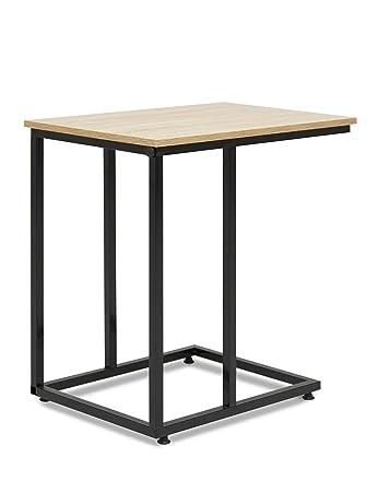 Suhu Couchtisch Holz Kleiner Lese Tisch Platzsparend Beistelltisch