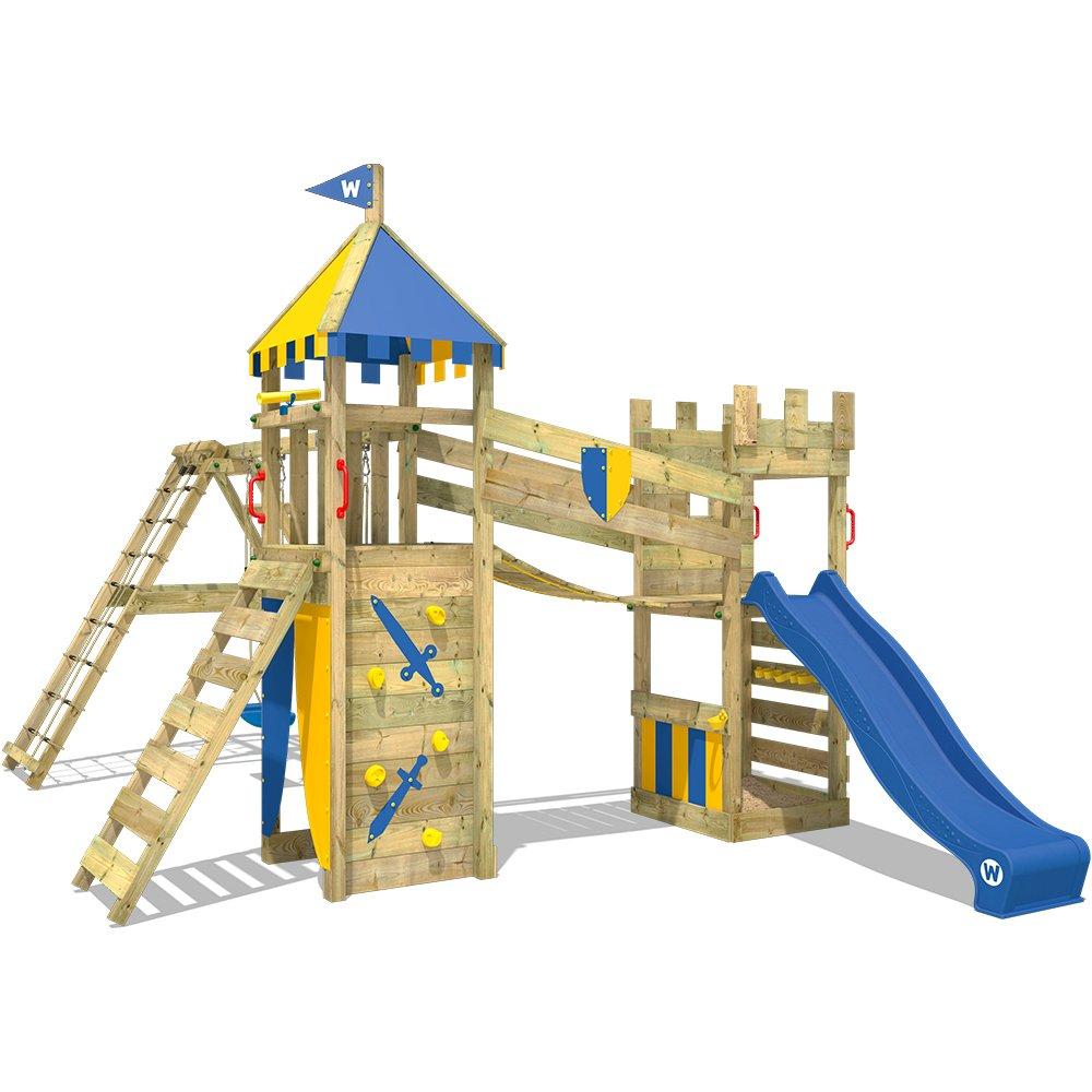 WICKEY Spielturm Smart Legend 120 Kletterturm Spielplatz Ritterburg ...