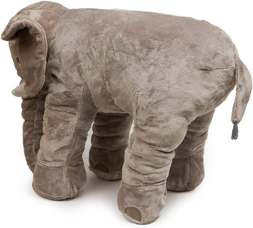 Nbeebro Stuffed Elephant Toys Cuddly Plush Animal 23.6 Gift for Birthday Valentine/'s Day