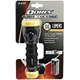 Dorcy 110-Lumen Weather Resistant LED Flashlight with Non-Slip Grip and Nylon Lanyard, Assorted Colors (41-2958)