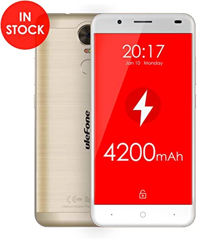 Ulefone Tiger 4 G FDD de LTE Smartphone 5,5 Pulgadas Android 6,0 ...