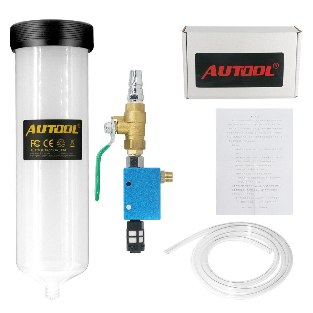 Autool automotivce freno bleeders líquido herramienta de cambio de aceite del coche herramienta de repuesto de aceite bomba de aceite - vacío purga ...
