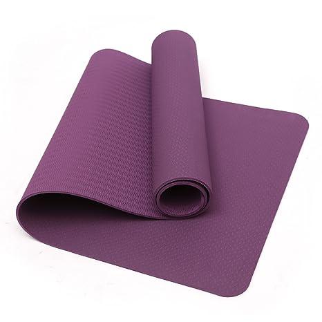 Amazon.com : TPE Yoga Mat, Eco Friendly Non Slip Yoga Mat ...