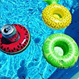 TOLTOL Inflatable Drink Holders, 10 Packs Floats
