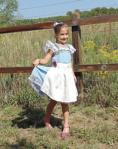 Girls 5-6 Belle Dress up Apron by Fru Fru and Feathers Costumes & Gifts