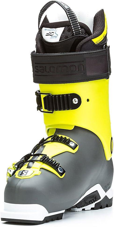 recurso Espera un minuto Arturo  Amazon.com : Salomon Quest Pro 130 Ski Boots Anthracite / Acide Green 24.5  : Sports & Outdoors