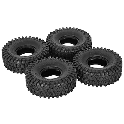 Goolsky 4Pcs AUSTAR AX-5020 1.9 Inch 120mm Rock Crawler Tires for 1/10 Traxxas Redcat SCX10 AXIAL RC4WD TF2 RC Car: Home & Kitchen