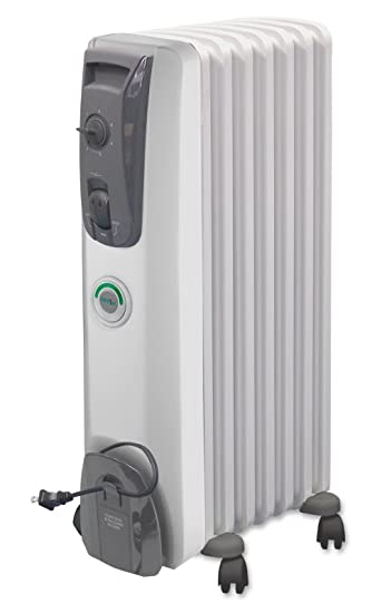 Amazing DeLonghi MG7307CM Safeheat 1500W ComforTemp Portable Oil Filled Radiator
