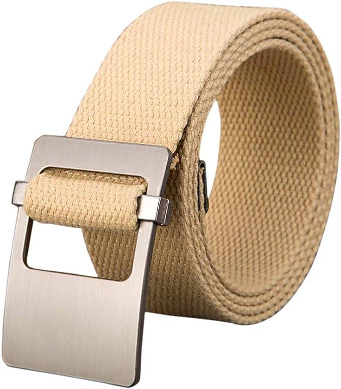 Aiweijia Mens tactical belt woven belt adjustable mens waist belt