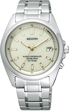 new styles dfa2c 9e41d CITIZEN REGUNO Solar Tech radio clock Men's watch RS25-0341H ...