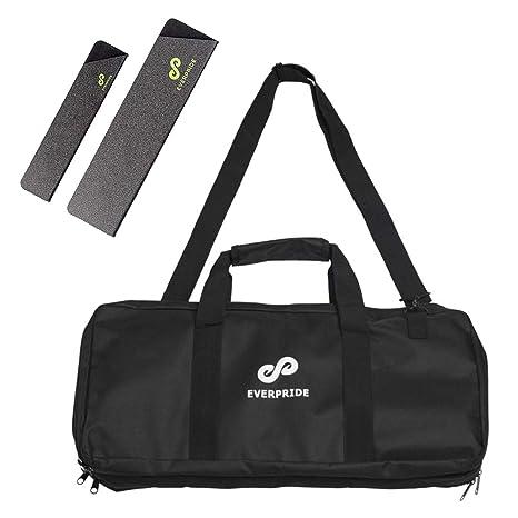 Knife Bag for Chefs w/Shoulder Strap by EVERPRIDE | Premium Culinary Knife Bag | Includes 2 Knife Guards | Durable Kitchen Utensils Holder | Knives ...