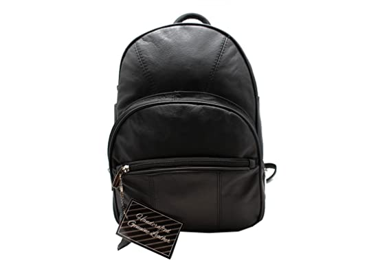 Amazon.com | Genuine Leather Women's Backpack Multi Purpose Sling ...