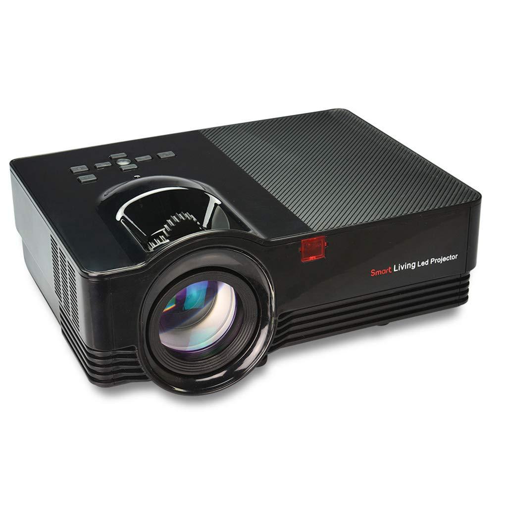 JCOCO VS67 3Dプロジェクター - WIFIおよび1080Pポータブルの180インチビデオプロジェクターをサポート - ホームシアター/オフィス/ビデオゲーム用の互換性のあるPC/Mac/TV/DVD/iPhone/iPad/USB/SD/AV/HDMI With remote control  B07LDSBZ4Q