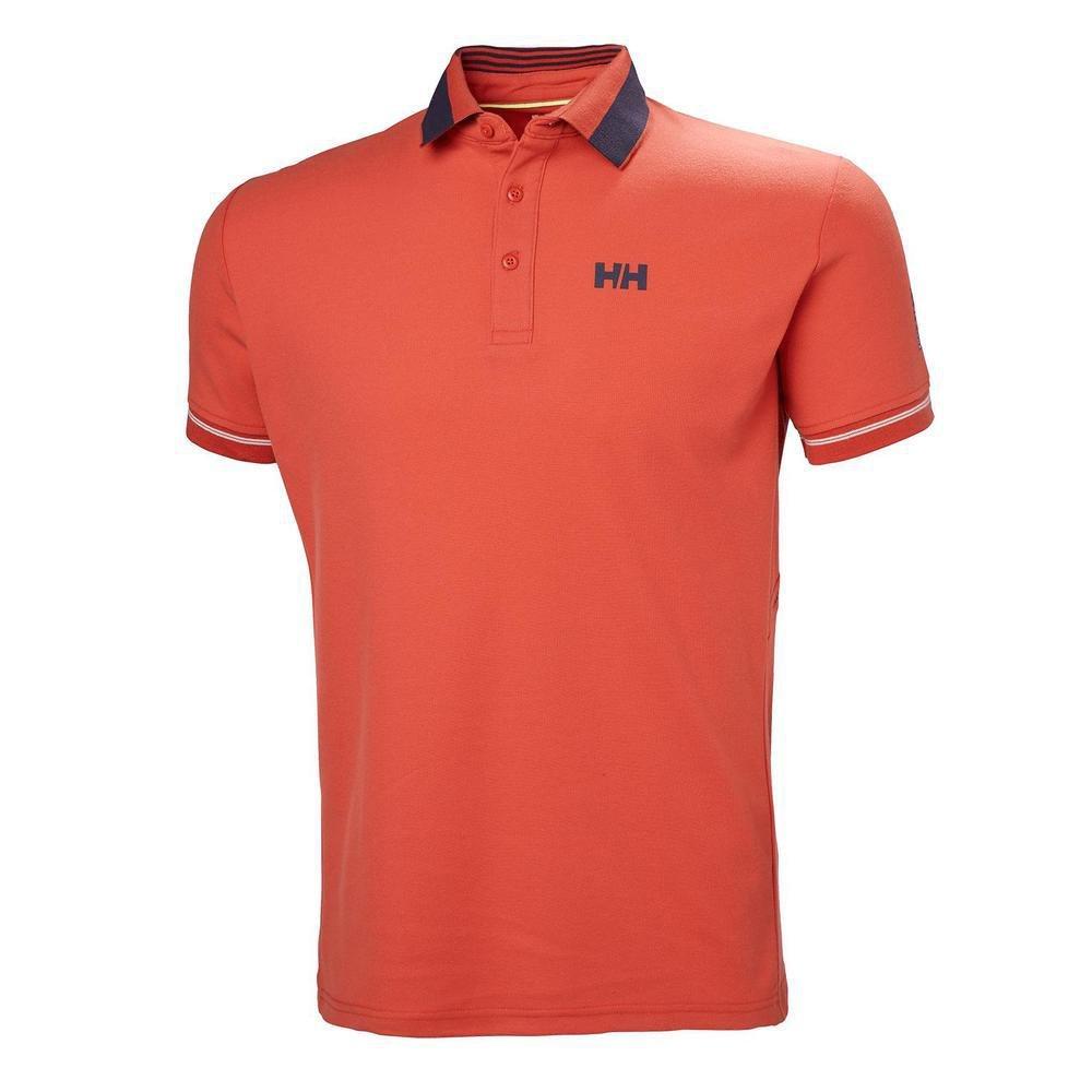 Helly Hansen HP Shore Polo - Polo, Hombre, Rojo(118 Paprika ...