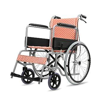 Ancianos Discapacitados Carro de Silla de Ruedas Manual ...