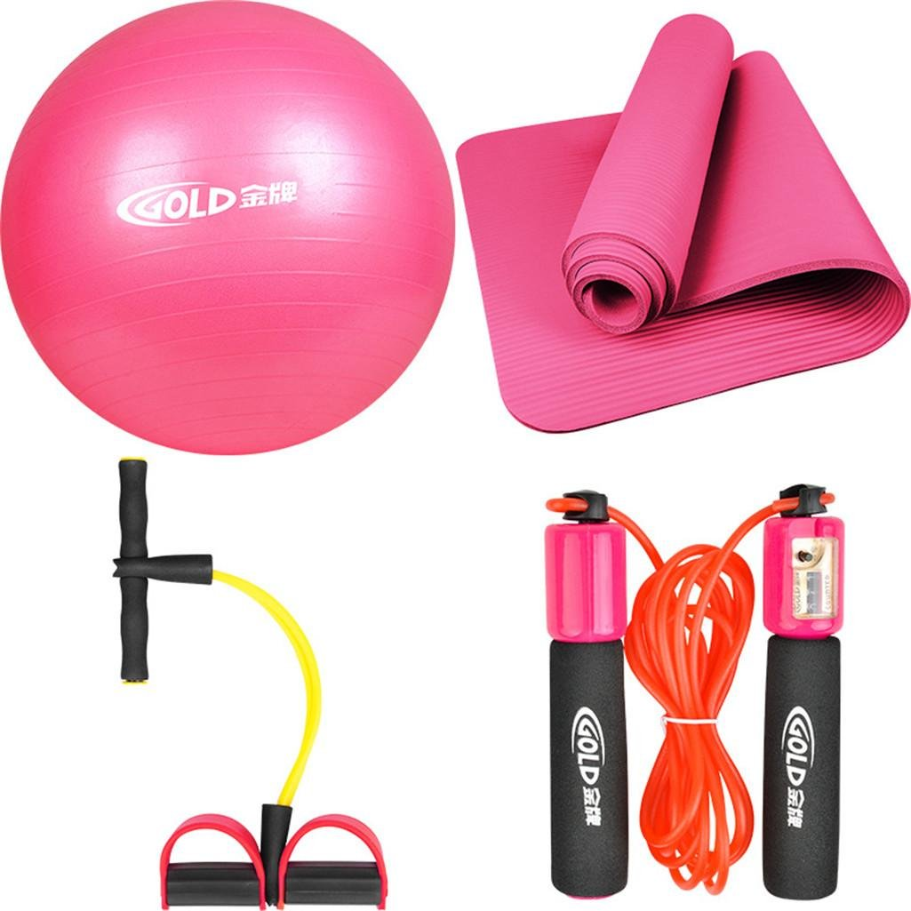 HHORD Damen Übung Ball Kit/Yoga/Yoga Matte/Turnhalle Heimfitness Ausstattung portfolio