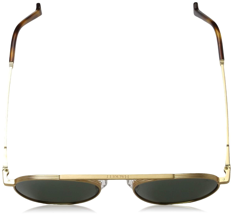 Hackett London HSB87044349 Gafas de Sol, Dorado, 49 para ...