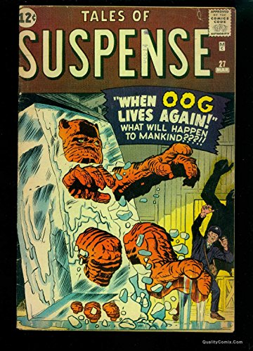 Tales Of Suspense #27 VG+ 4.5