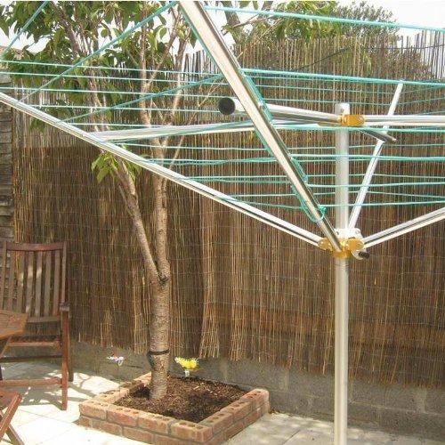 Breezecatcher TS4 - 36 m 7 líneas al Aire Libre Paraguas tendedero, Aluminio, 120: Amazon.es: Hogar
