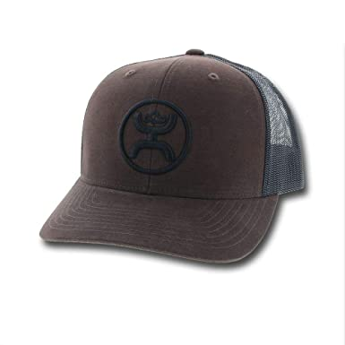 1fcf514c Image Unavailable. Image not available for. Color: HOOey O Classic Brown/ Black Adjustable Snapback Hat