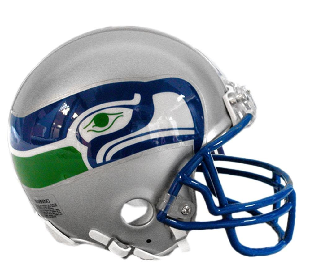 amazon com riddell seattle seahawks replica mini helmet sports