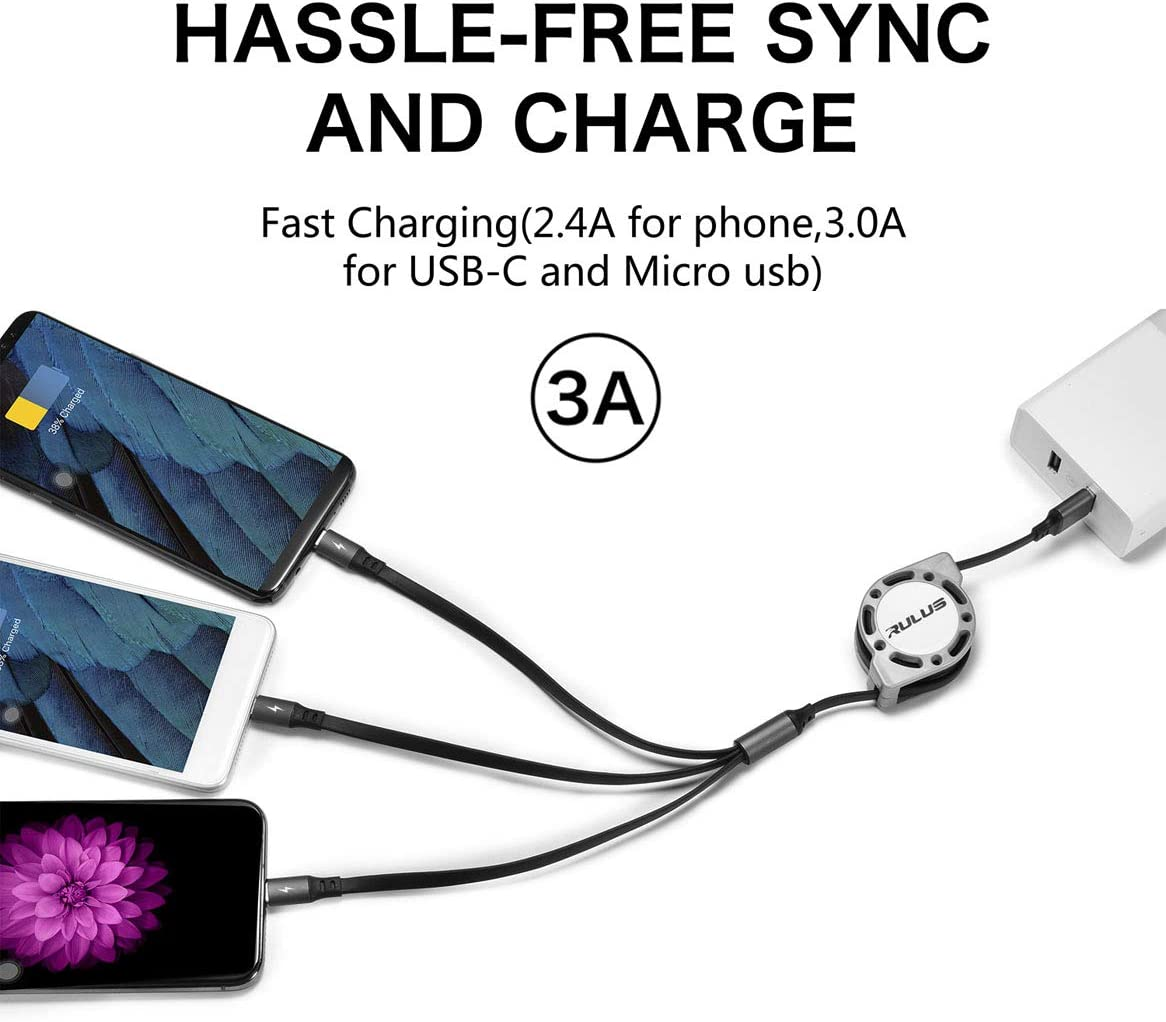 Round USB Data Cable Charging Cable Can Be Charged and Data Transmission Synchronous Fast Charging Cable-Red Tiles Illustration