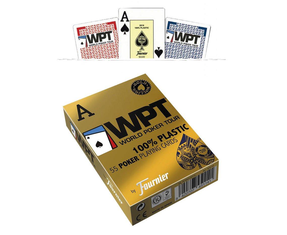 Outletdelocio. Baraja Fournier Poker World Tour WPT. 55 ...