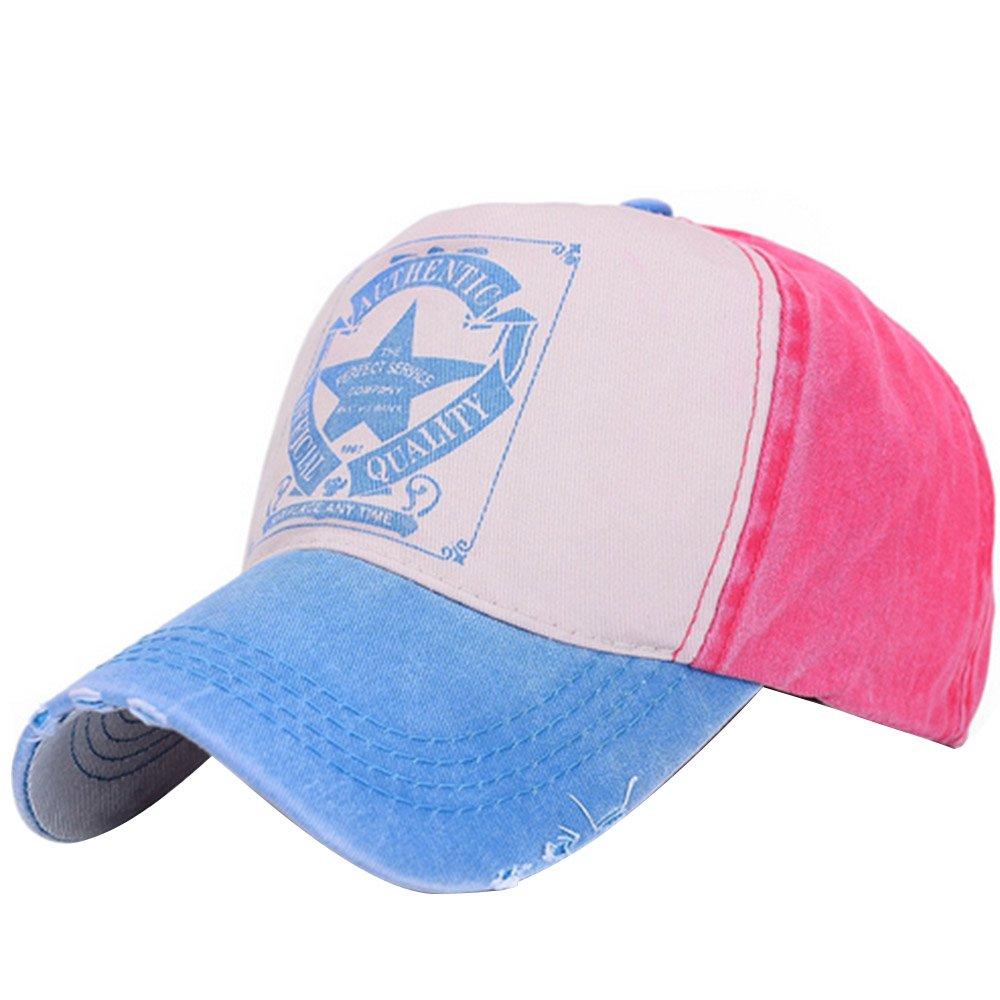 Vintage Five Star Printed Twill Cotton Unisex Trucker Hat Adjustable Baseball Cap Boys Girls Hip Hop Snapback Hat Black+purple Gosear TRTAZ11A
