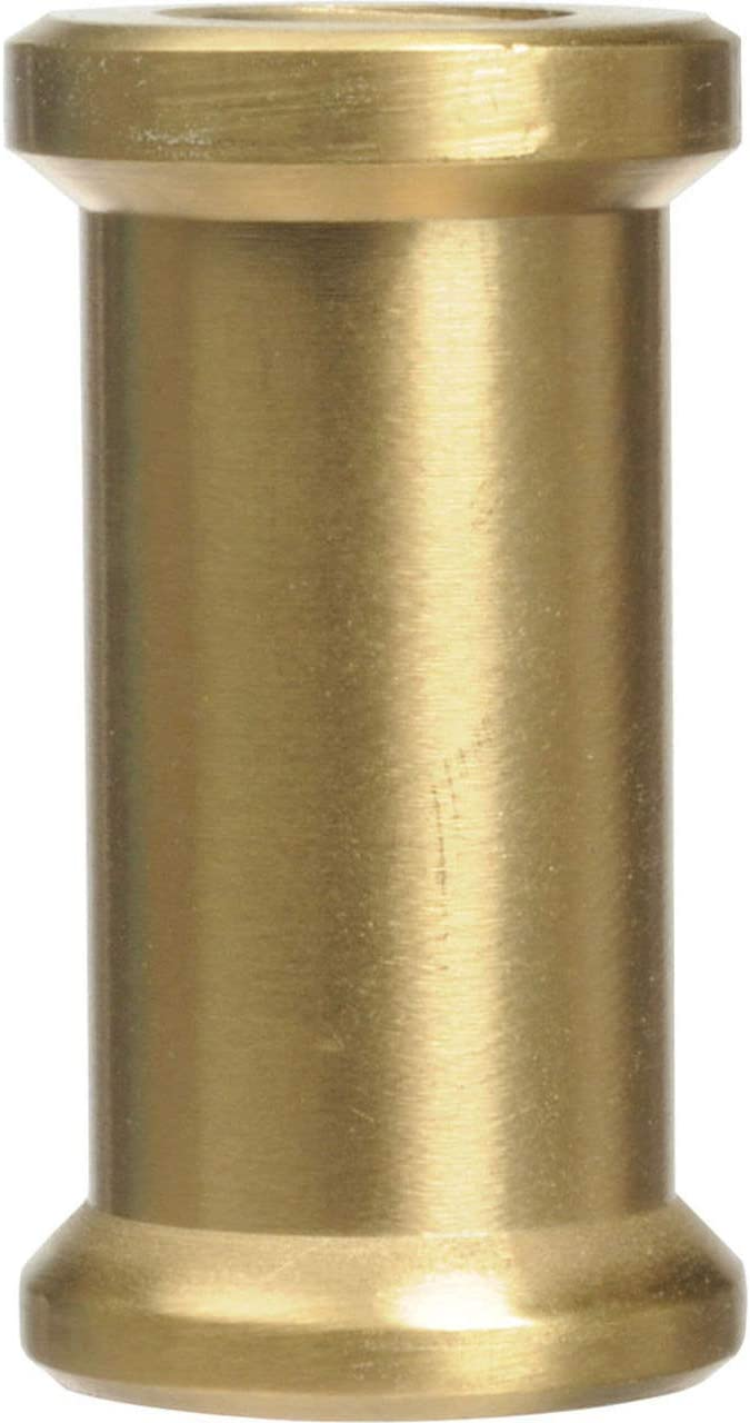 Promaster SHORT SPIGOT 1//4-20F TO 3//8F BRASS
