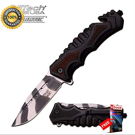 Amazon.com: Moon Knives MT-A937WU - Cuchillo de combate y ...