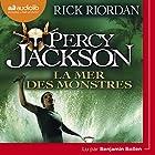 La mer des monstres (Percy Jackson 2)   Livre audio Auteur(s) : Rick Riordan Narrateur(s) : Benjamin Bollen