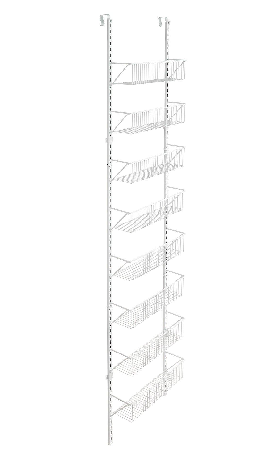 ClosetMaid Adjustable Wall & Door 8-Tier Wall and Door Basket Organizer, 18'' by ClosetMaid