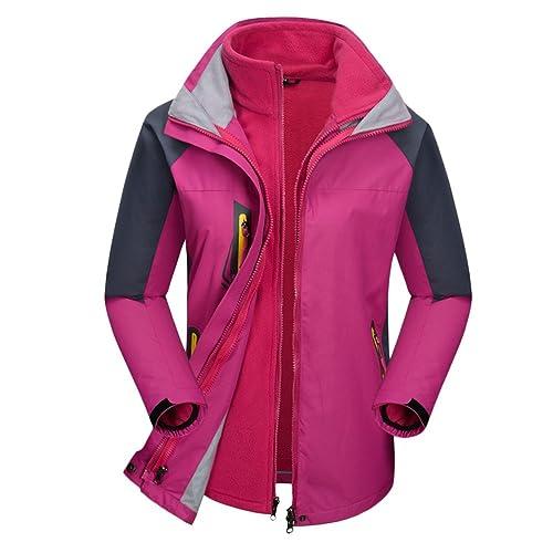 Zhuhaitf Nueva llegada Popular Fashion Womens Coats Tooling Fleece Warm Overalls Workout Quality Punch Jackets Winter Sports