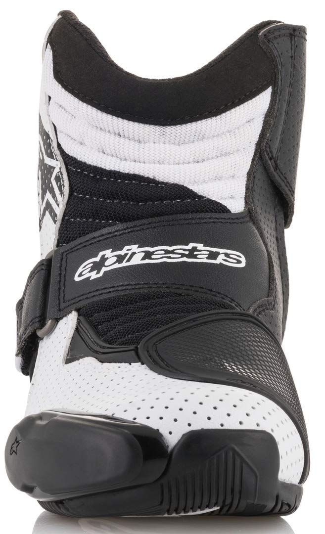 Alpinestars SMX-1 R Vented Boots Black//White//Yellow 46