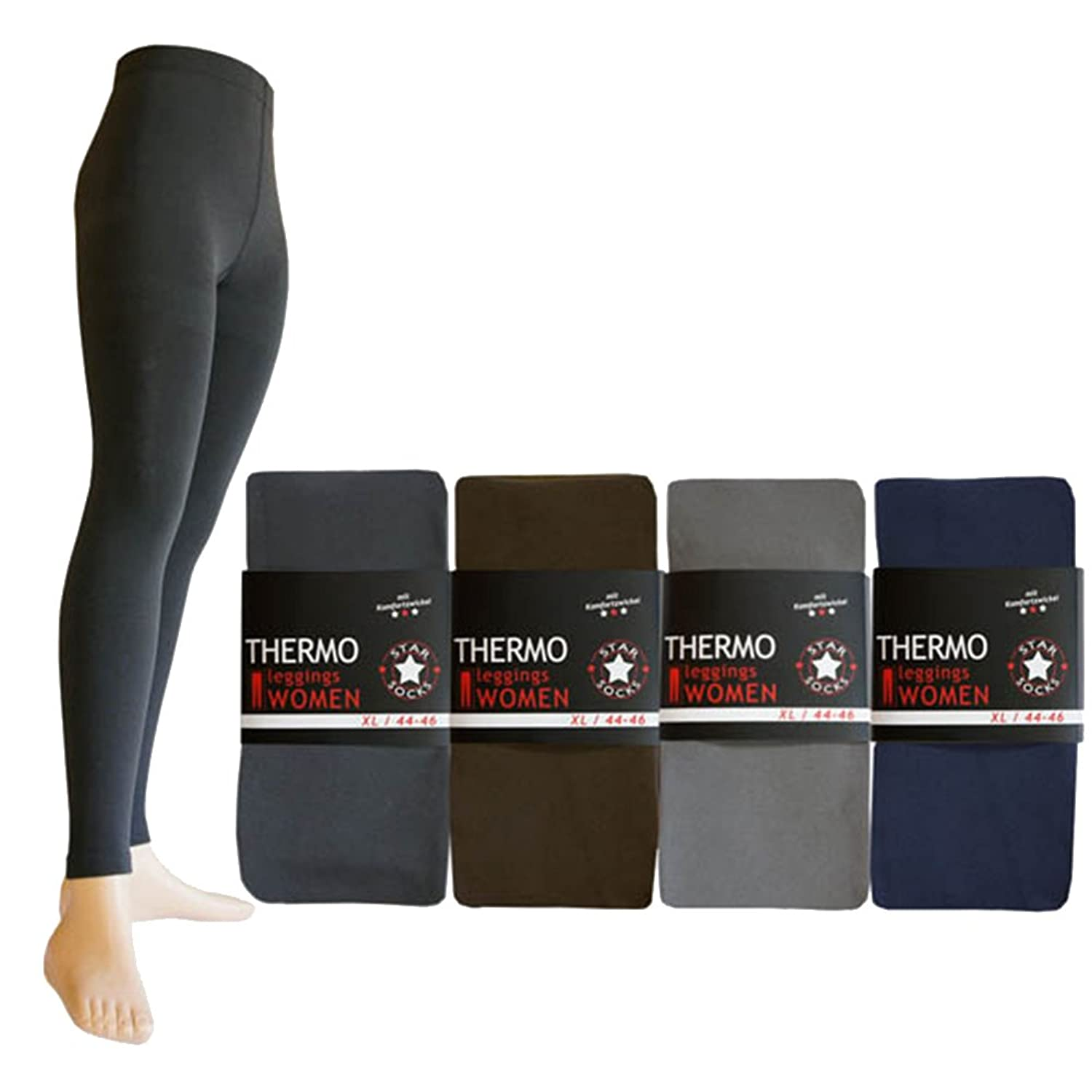 2 Piece thermal leggings uni Soft and warm