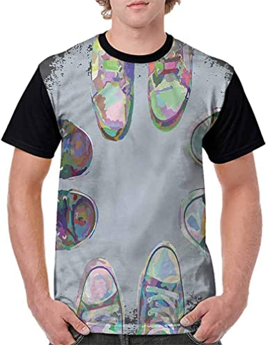 BlountDecor Performance T-Shirt,New Year Celebration Fashion Personality Customization