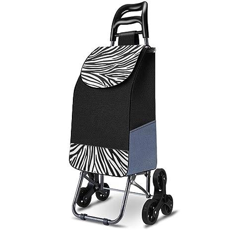LGQZWHL Carro de la Compra Plegable portátil de 30 l con ...