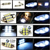 led package - Classy Autos Toyota 4Runner White Interior LED Package (10 Pieces)