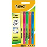 BIC Highlighters Assorted Fluorescent Colours 5 Pack