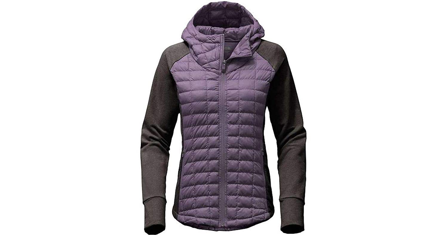 THE NORTH FACE Endeavor Thermoball Women's Jacket Dark Egg Purple Grey Heather