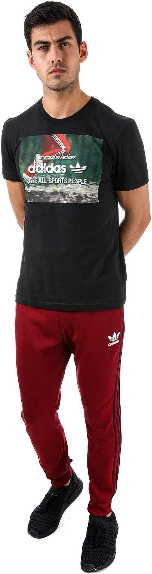 adidas - Chándal - para Hombre Rojo Granate 27-32: Amazon.es: Ropa ...