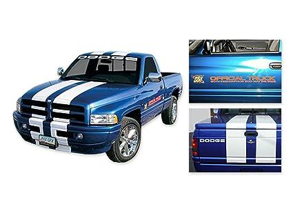 Amazon 1996 Dodge Ram 1500 Indy 500 Pace Truck Door Decals Kit