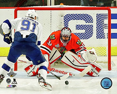 """Corey Crawford Game 6 of the 2015 Stanley Cup® Finals (Size: 16"""" x 20"""")"""